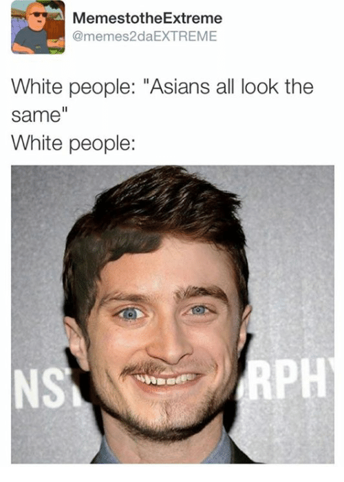 Asian And White People 4