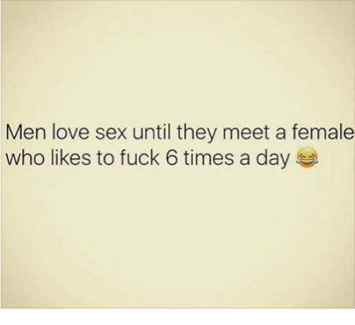 why men love to fuck