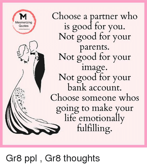 school of life how to choose a partner