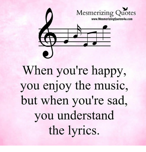Happy World Music Day Quotes: Mesmerizing Quotes WwwMesmerizingQuotes4ucom When You're