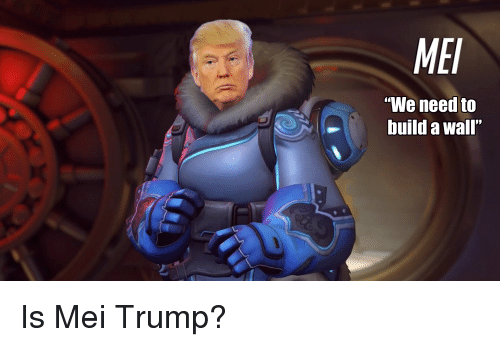 Mei Build A Wall