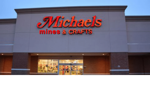 Michaels: Michaels  mines &CRAFTS