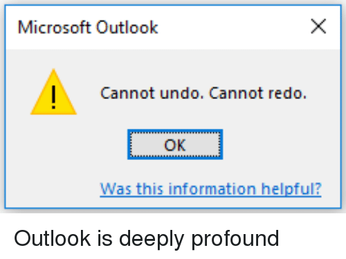 how to add a redo in outlook