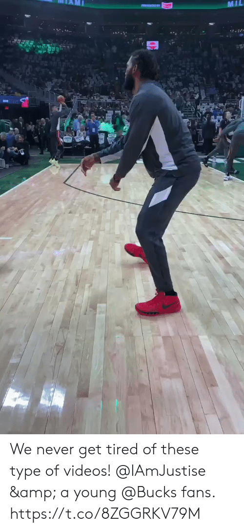 mil: MIL  . We never get tired of these type of videos!   @IAmJustise & a young @Bucks fans.  https://t.co/8ZGGRKV79M