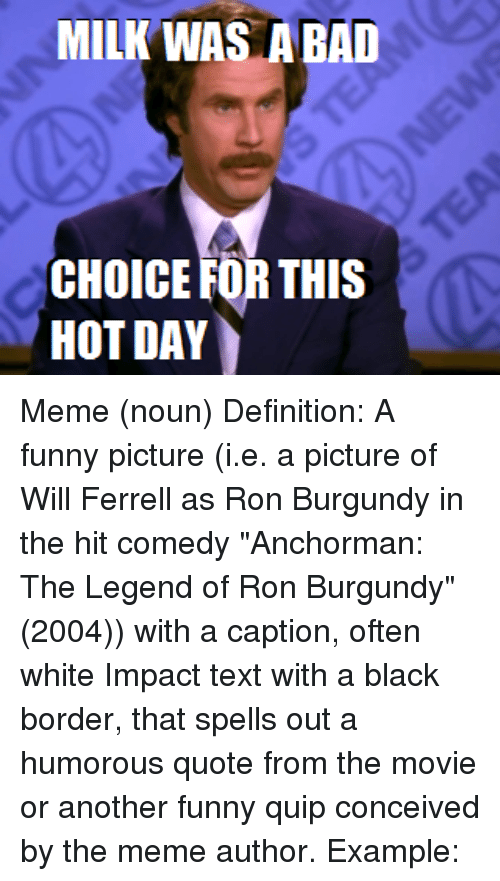 Funny Ron Burgundy Meme : Funny ron burgundy memes of on sizzle anchorman