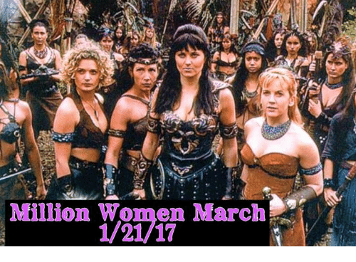 Memes, 🤖, and March: Million Women March