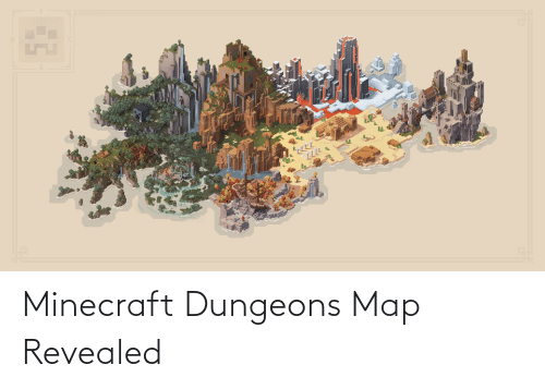 dungeons: Minecraft Dungeons Map Revealed