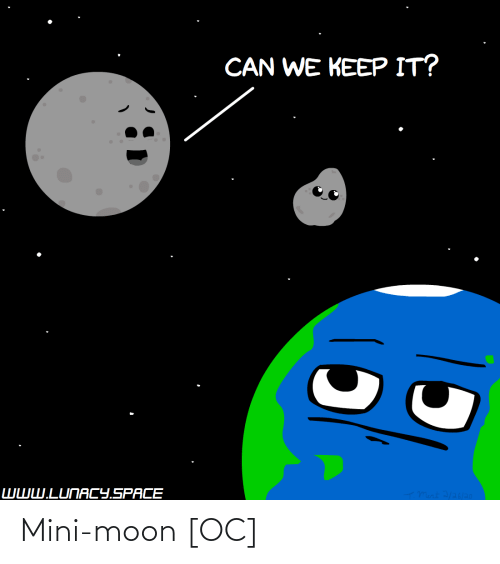 Moon: Mini-moon [OC]