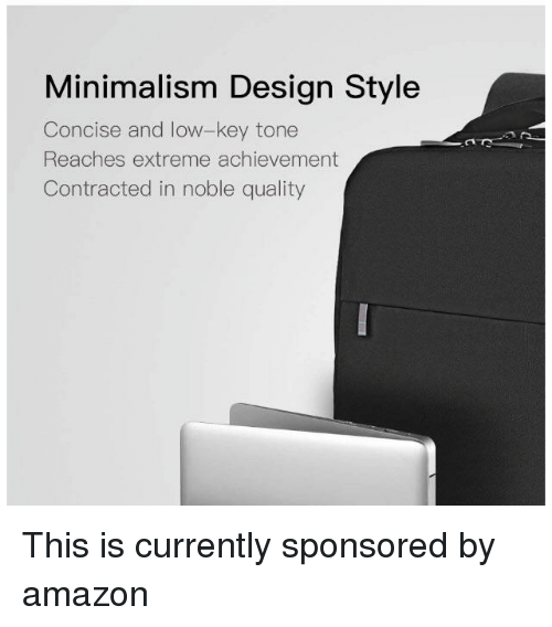 Minimalism Design Style Concise And Low Key Tone Reaches