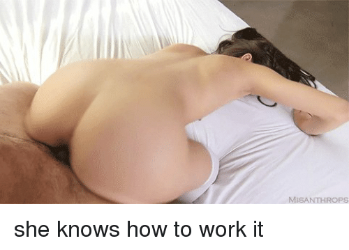 She knows how to expose her sexy body