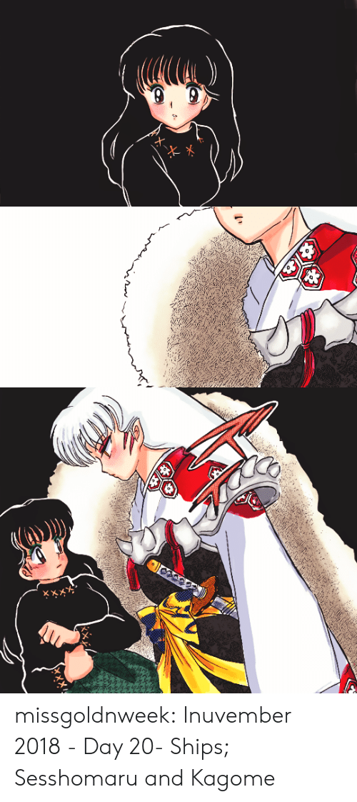ships: missgoldnweek: Inuvember 2018 - Day 20- Ships; Sesshomaru and Kagome