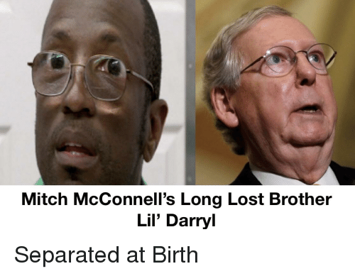 Lil Darryl: Mitch McConnell's Long Lost Brother  Lil' Darryl