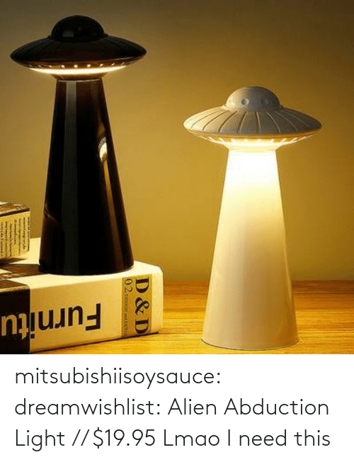 ufo: mitsubishiisoysauce: dreamwishlist: Alien Abduction Light  // $19.95   Lmao I need this