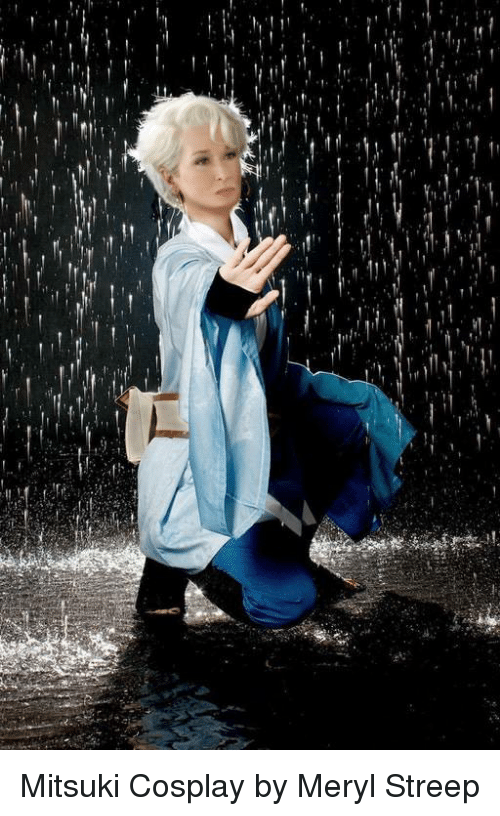 Naruto, Cosplay, and Meryl Streep: Mitsuki Cosplay by Meryl Streep