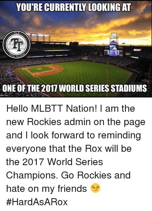mlb one of the 2011 world series stadiums gfip com hello 19971651 🅱 25 best memes about world series champions world series