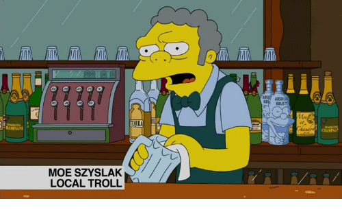 absolution: MOE SZYSLAK  LOCAL TROLL  ABS ABSOLUT  KR KRUSTY  Mng  CHAMPAG