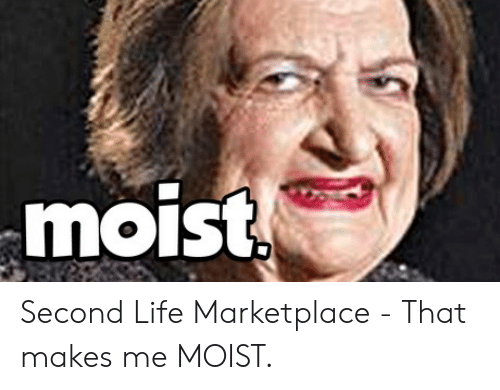That Makes Me Moist Meme: moist Second Life Marketplace - That makes me MOIST.