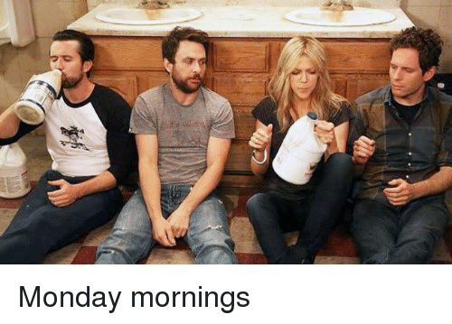Memes, Monday, and 🤖: Monday mornings