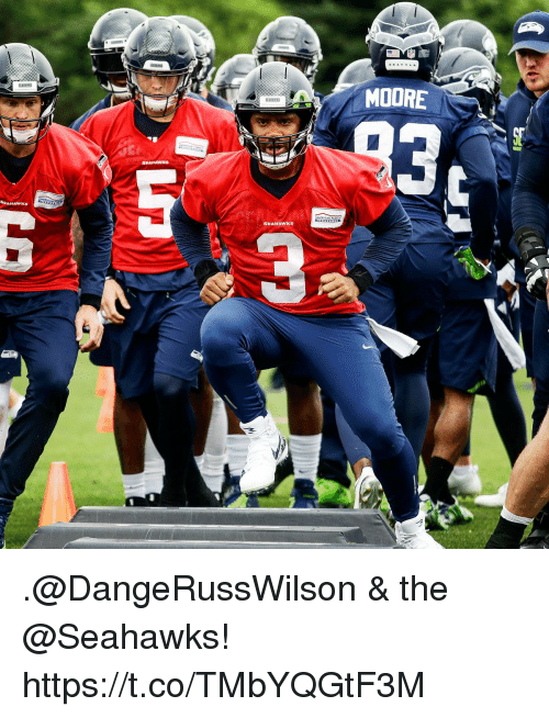 Memes, Seahawks, and 🤖: MOORE  SEAHAwKs .@DangeRussWilson & the @Seahawks! https://t.co/TMbYQGtF3M