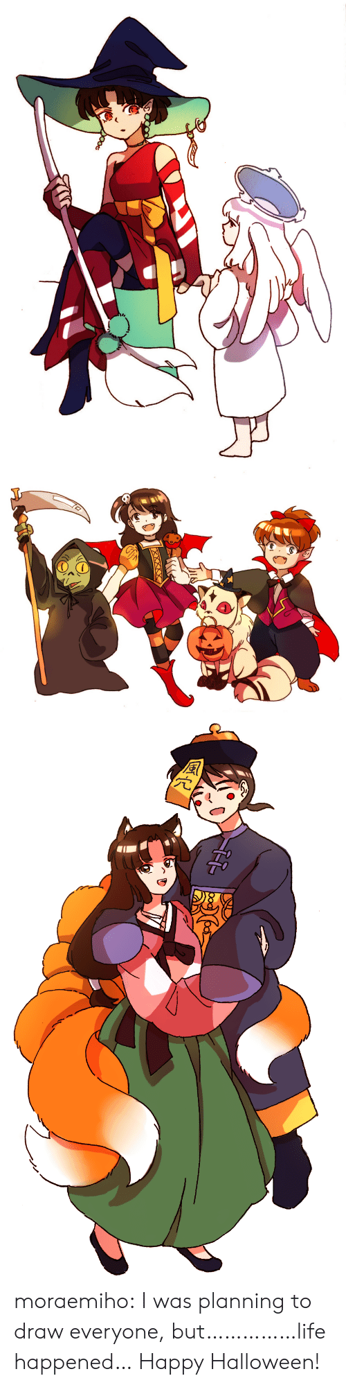 Planning: moraemiho: I was planning to draw everyone, but……………life happened… Happy Halloween!