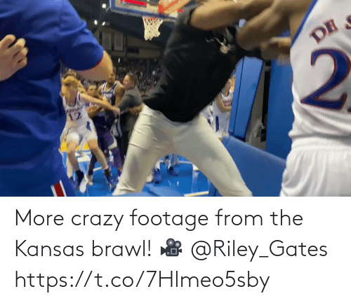 gates: More crazy footage from the Kansas brawl!   🎥 @Riley_Gates https://t.co/7Hlmeo5sby