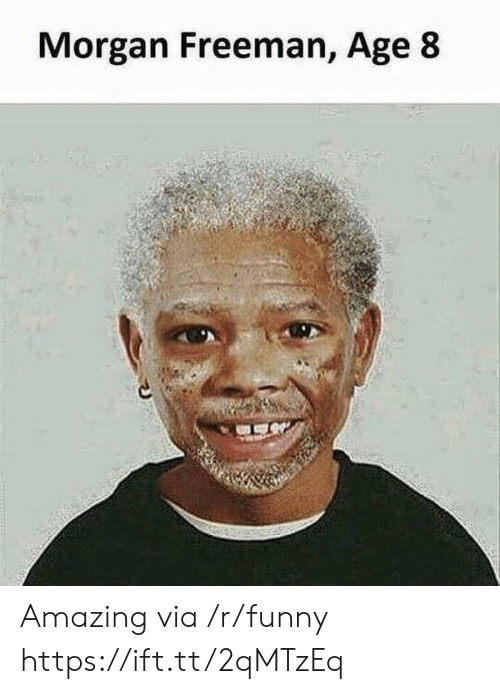 Morgan Freeman: Morgan Freeman, Age 8 Amazing via /r/funny https://ift.tt/2qMTzEq
