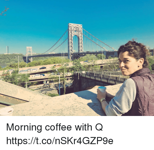 Memes, Coffee, and 🤖: Morning coffee with Q https://t.co/nSKr4GZP9e