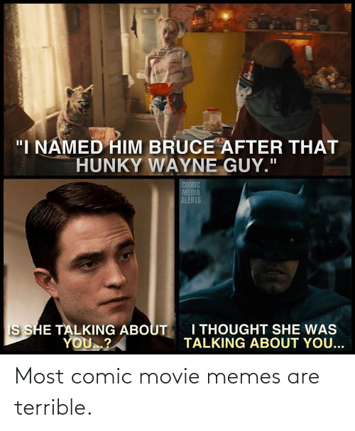 Movie Memes: Most comic movie memes are terrible.