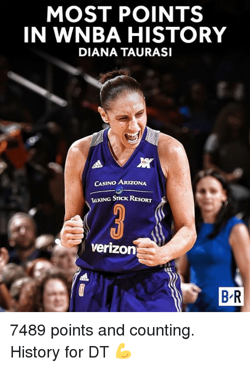 MOST POINTS IN WNBA HISTORY DIANA TAURASI All CASINO ...