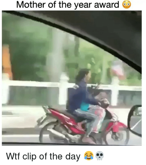 Funny, Wtf, and Mother: Mother of the year award Wtf clip of the day 😂💀