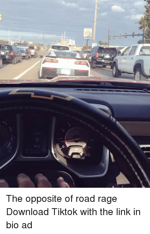 Road Rage: MPH The opposite of road rage Download Tiktok with the link in bio ad