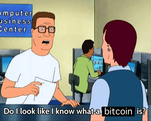 Bitcoin: mpute  siness  enter  Do I look like I know what aj bitcoin is?