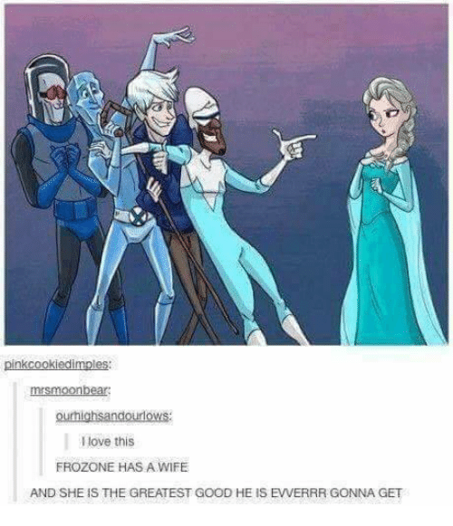 Frozone: mrsmoonbear  ourhighsandourlows:  Ilove this  FROZONE HAS A WIFE  AND SHE IS THE GREATEST GOOD HE IS EVVERRR GONNA GET