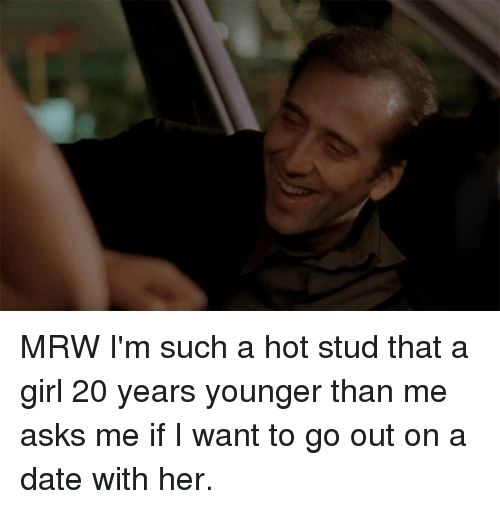 Dating a woman 20 years younger than me