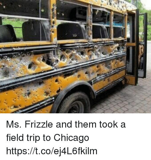 Ms. Frizzle: Ms. Frizzle and them took a field trip to Chicago https://t.co/ej4L6fkilm