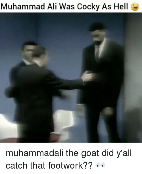 alie: Muhammad Ali Was Cocky As Hell muhammadali the goat did y'all catch that footwork?? 👀