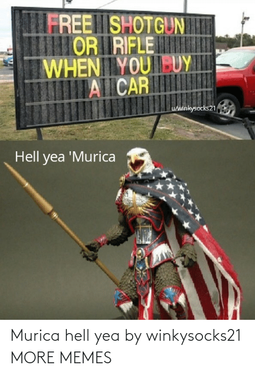 Hell: Murica hell yea by winkysocks21 MORE MEMES