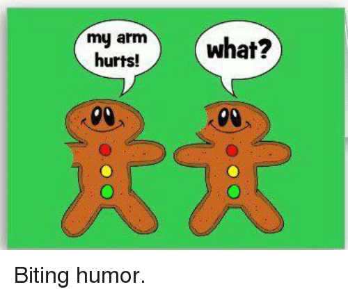Image result for biting humor