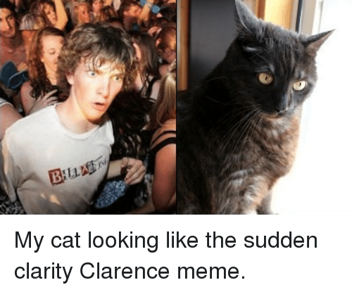 25+ Best Memes About Sudden Clarity Clarence | Sudden ...