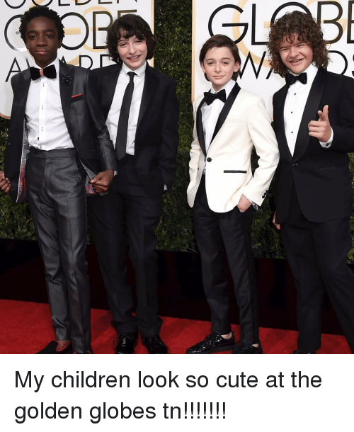 Golden Globes, Memes, and 🤖: My children look so cute at the golden globes tn!!!!!!!