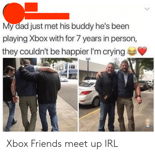 Meet Up: My dad just met his buddy he's been  playing Xbox with for 7 years in person,  they couldn't be happier I'm crying Xbox Friends meet up IRL
