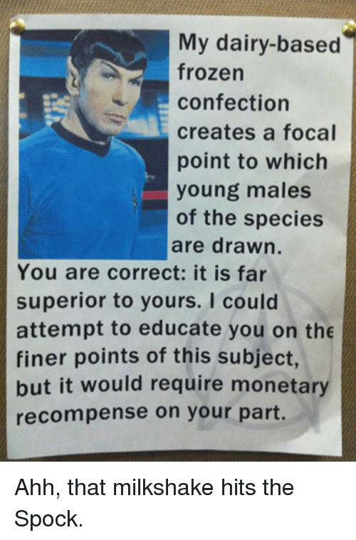 You Are Correct