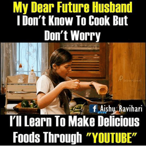 i know how to cook it future