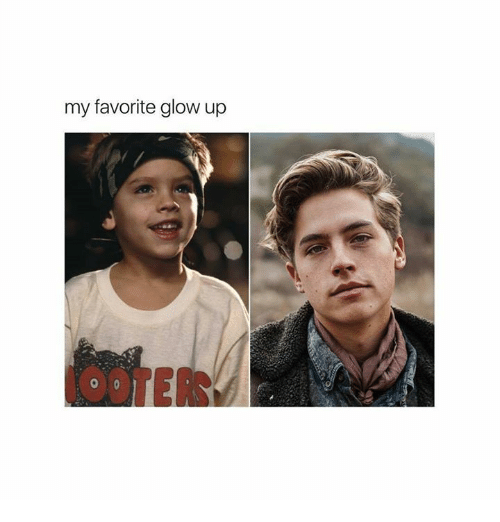 Glowed Up: my favorite glow up  OOTER