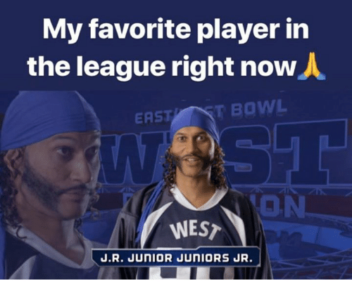 Nfl, The League, and Bowl: My favorite player in  the league right now  ASTT BOWL  ON  WEST  J.R. JUNIOR JUNIORS JR.