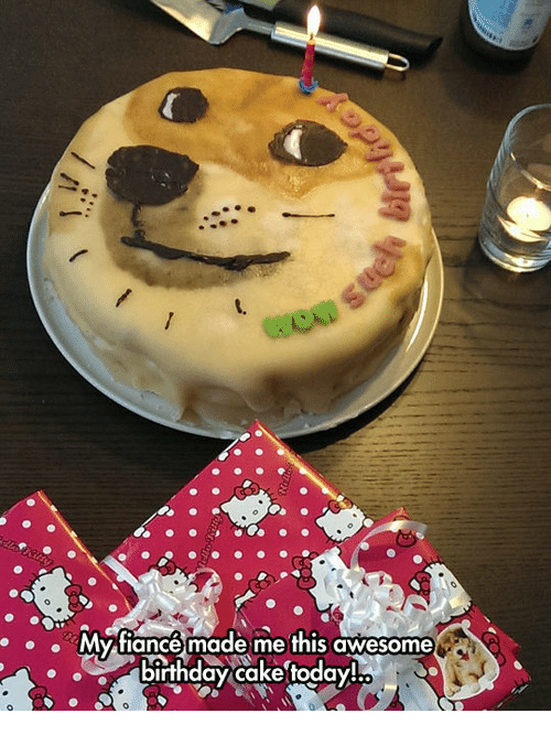 Birthday: My fiance made me this awesome  birthday caketoday!.