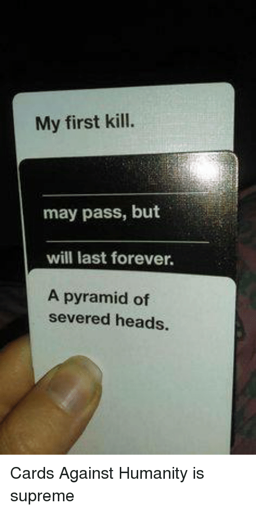 Funny Cards Against Humanity Meme : Funny supreme memes of on sizzle dank