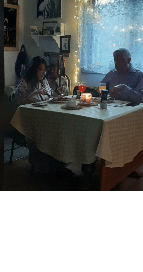 in laws: My in-laws had their 31st anniversary while in quarantine, so their kids dressed as waitstaff and made them a romantic dinner in.
