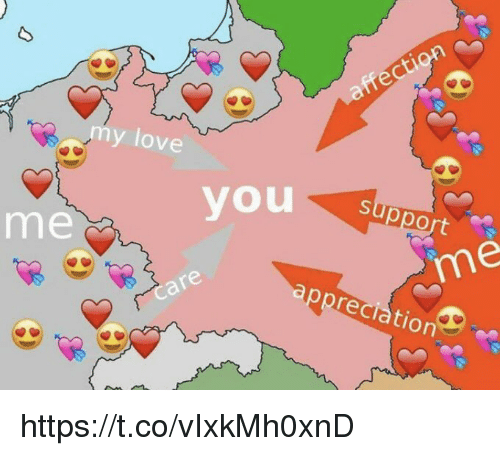 Love, Memes, and 🤖: my love  support  you  me  im  reciation https://t.co/vIxkMh0xnD