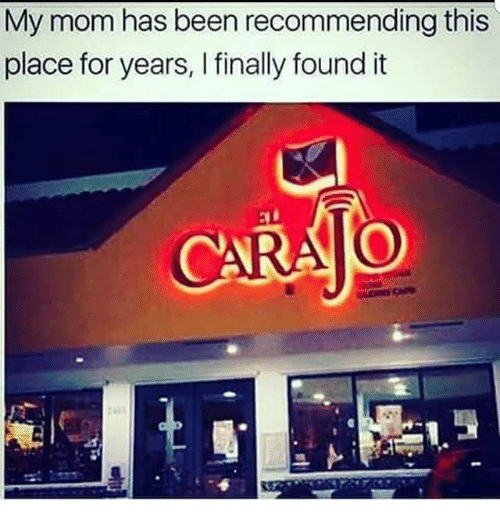 Memes, Mom, and Been: My mom has been recommending this  place for years, I finally found it
